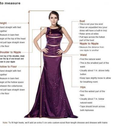 Elegant V-neck A-line Floor-length ..